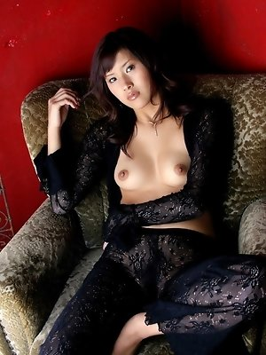 Sexy Sara takes off her lingerie to show her excellent fuckable body